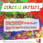 Cercasi Artisti! - Programmazione artistica 2017/18!