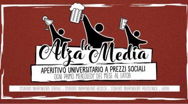 Alza la media! L'aperitivo universitario a Milano promosso da Studenti Indipendenti e Lato B