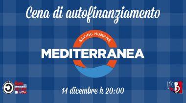 Cena di autofinanziamento in favore di Mediterranea Saving Humans