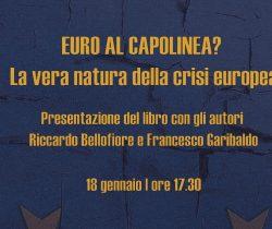 Presentazione del libro Euro al capolinea?
