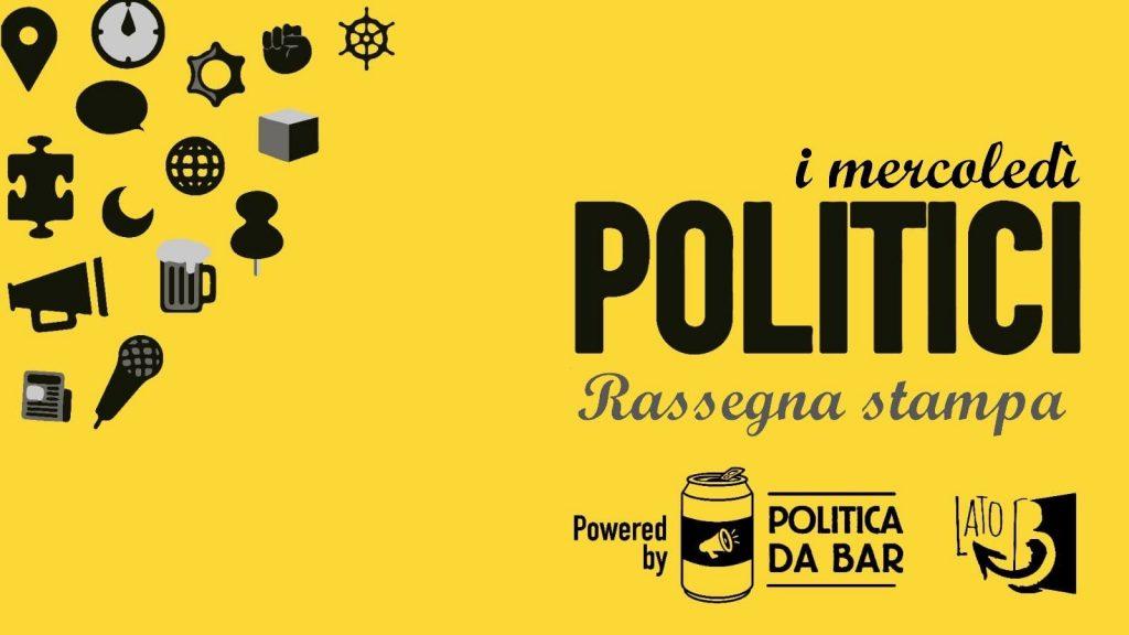 I Mercoledì Politici, per potersi confrontare liberamente sui tanti temi di attualità che attraversano le nostre vite, e per approfondirne i diversi aspetti.