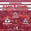 Coronavirus: il Lato B chiude, le attività continuano