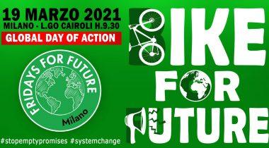 19 marzo global strike di Fridays for future a milano